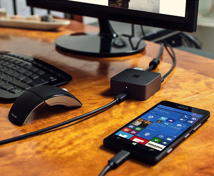 Rysunek 1 Dzięki monitorowi Lumia 950 i 950 XL zapewnią Ci doznania godne komputera